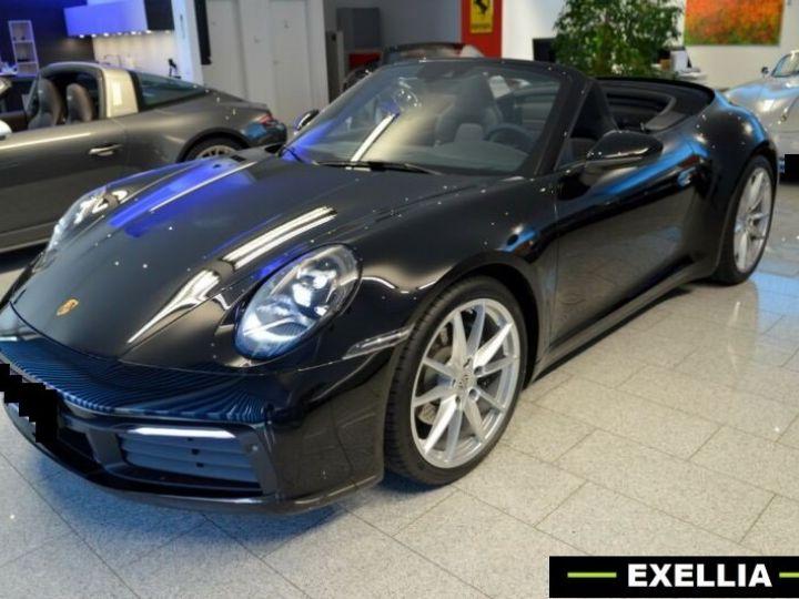 Porsche 992 Carrera Cabriolet noir peinture métallisé  Occasion - 3
