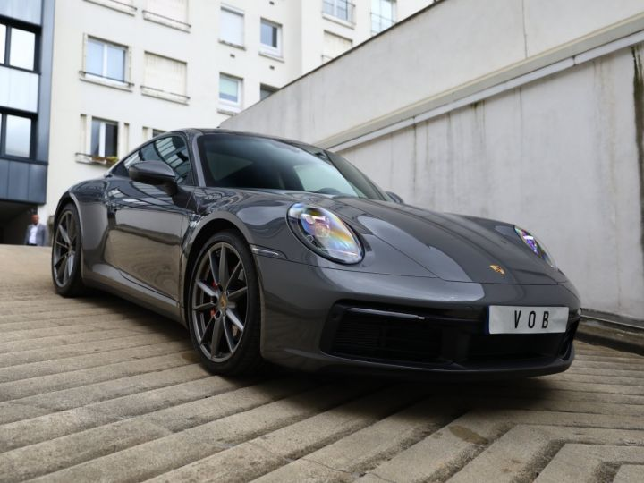 Porsche 992 PORSCHE 992 CARRERA S 3.0 450CV /PANO /PSE/ EN ETAT NEUF 8500KMS Gris Quartz - 5
