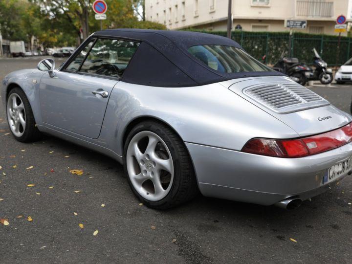 Porsche 993 993 Carrera 3.6 272 Cv Cabriolet Etat Concours Gris - 4