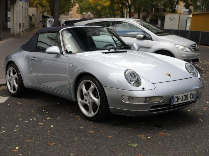 Porsche 993 993 Carrera 3.6 272 Cv Cabriolet Etat Concours Gris - 8