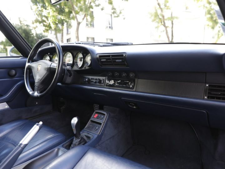 Porsche 993 993 Carrera 3.6 272 Cv Cabriolet Etat Concours Gris - 38