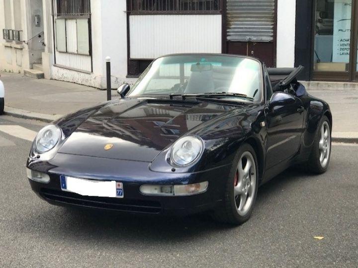Porsche 993 993 CARRERA CABRIOLET BVM 272 CV Bleu Nuit - 2
