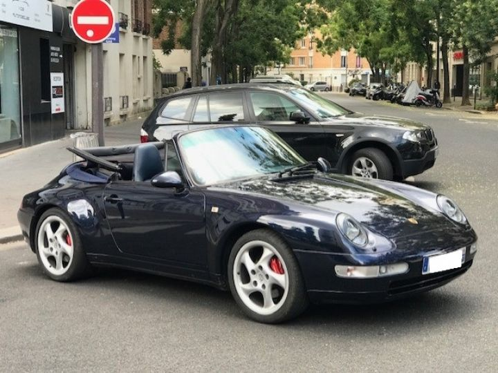 Porsche 993 993 CARRERA CABRIOLET BVM 272 CV Bleu Nuit - 5