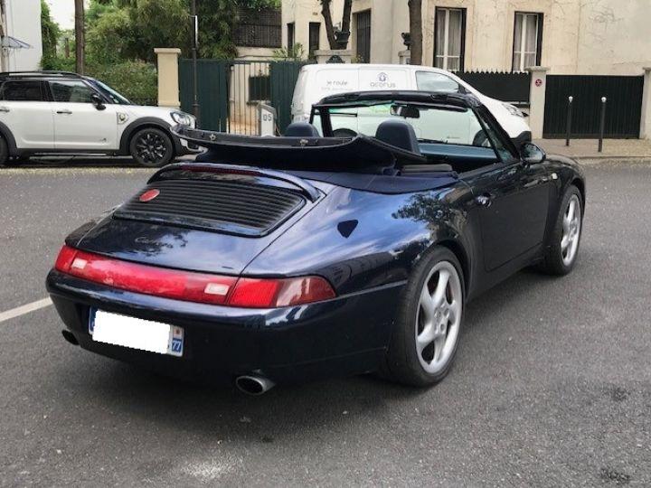 Porsche 993 993 CARRERA CABRIOLET BVM 272 CV Bleu Nuit - 6