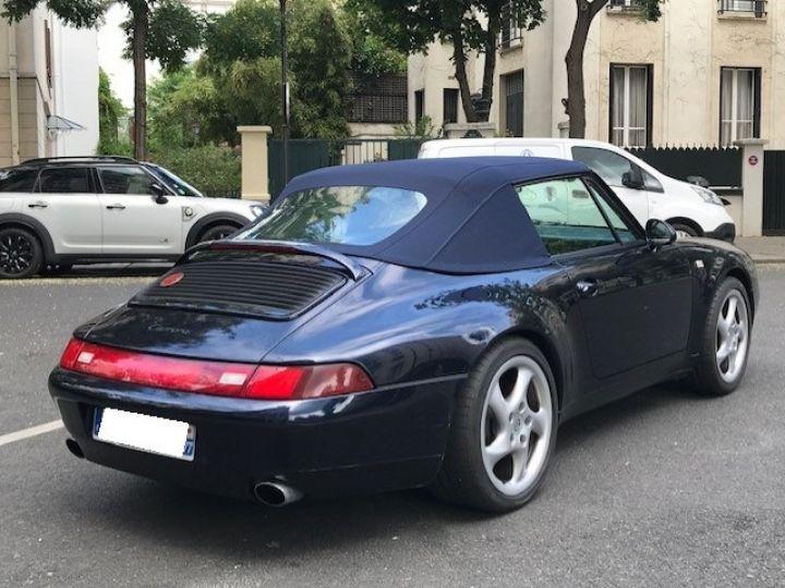 Porsche 993 993 CARRERA CABRIOLET BVM 272 CV Bleu Nuit - 9