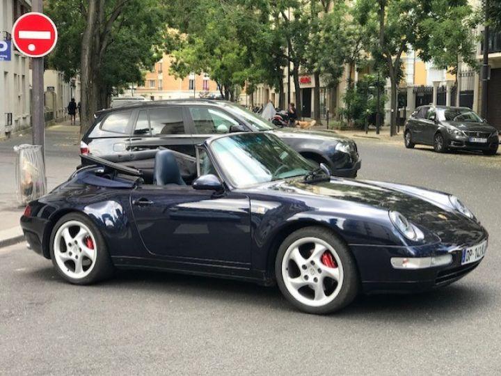 Porsche 993 993 CARRERA CABRIOLET BVM 272 CV Bleu Nuit - 30
