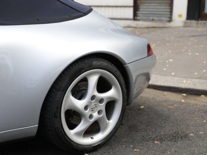 Porsche 993 Carrera 3.6 272 Cv Cabriolet Etat Concours Gris - 11