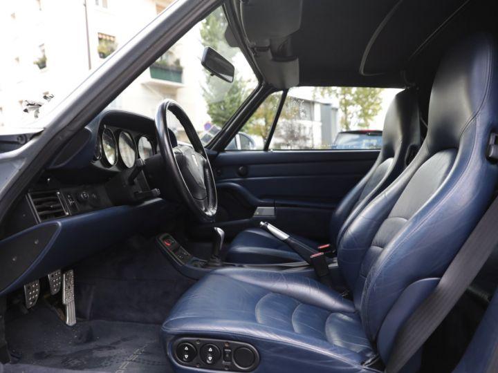 Porsche 993 Carrera 3.6 272 Cv Cabriolet Etat Concours Gris - 22