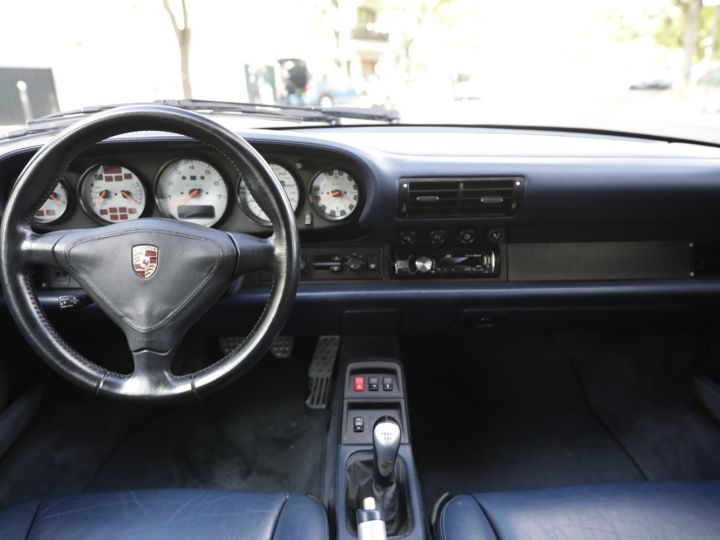 Porsche 993 Carrera 3.6 272 Cv Cabriolet Etat Concours Gris - 26