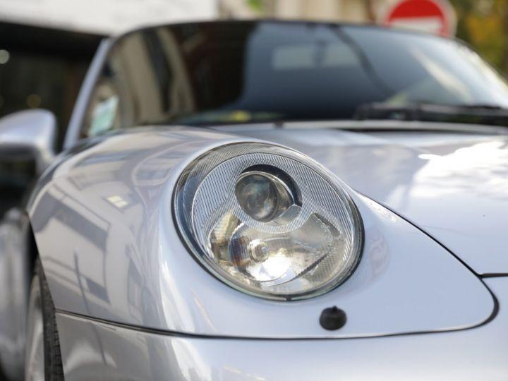 Porsche 993 Carrera 3.6 272 Cv Cabriolet Etat Concours Gris - 15