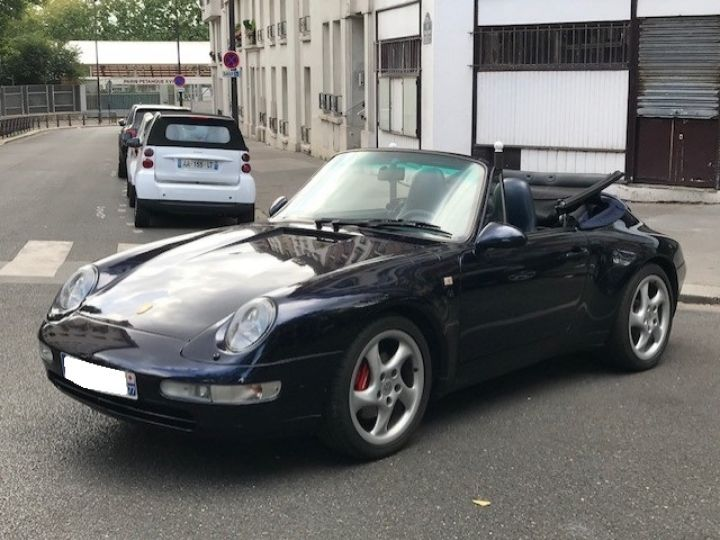 Porsche 993 CARRERA CABRIOLET BVM 272 CV ETAT CONCOURS Bleu Nuit - 1