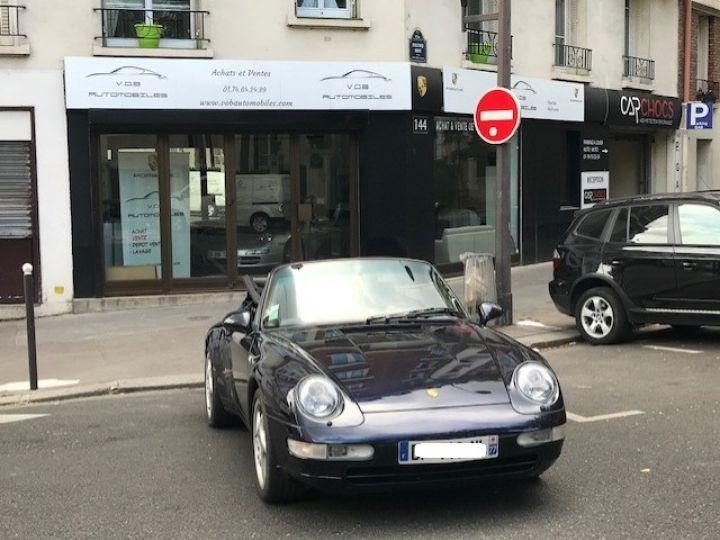 Porsche 993 CARRERA CABRIOLET BVM 272 CV ETAT CONCOURS Bleu Nuit - 3