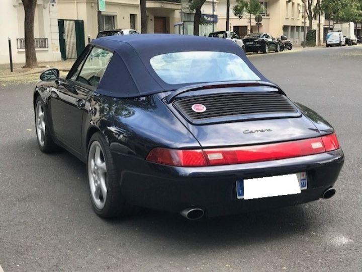 Porsche 993 CARRERA CABRIOLET BVM 272 CV ETAT CONCOURS Bleu Nuit - 8
