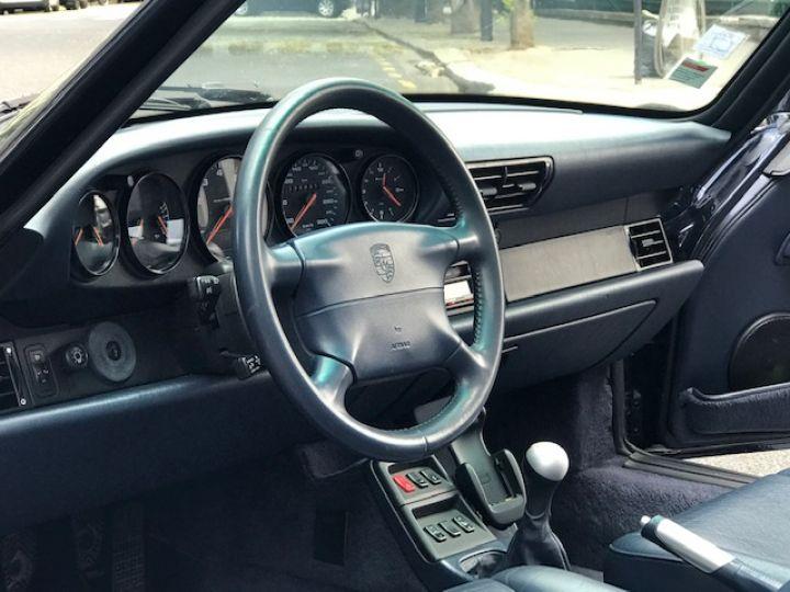 Porsche 993 CARRERA CABRIOLET BVM 272 CV ETAT CONCOURS Bleu Nuit - 23