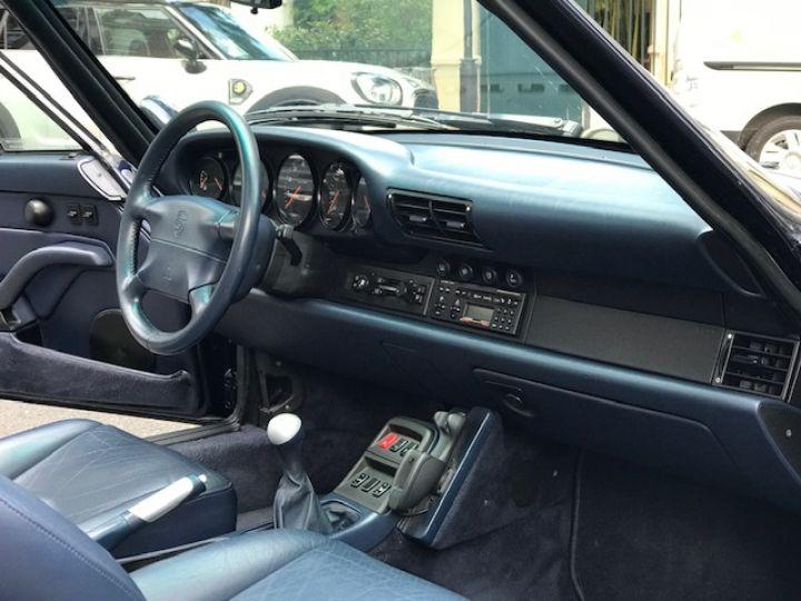 Porsche 993 CARRERA CABRIOLET BVM 272 CV ETAT CONCOURS Bleu Nuit - 25