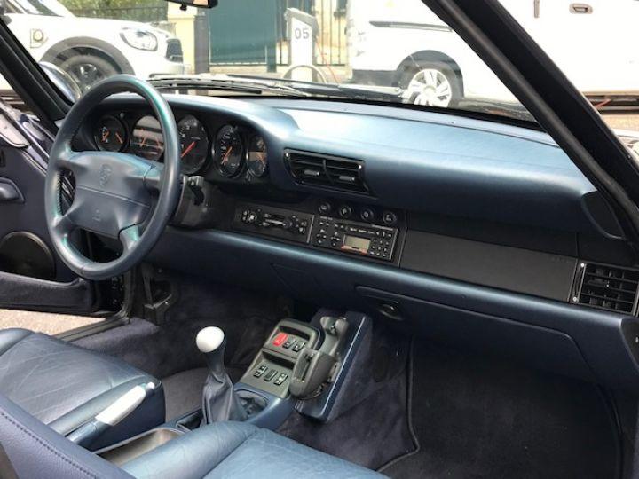 Porsche 993 CARRERA CABRIOLET BVM 272 CV ETAT CONCOURS Bleu Nuit - 26