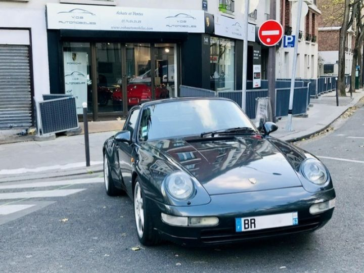 Porsche 993 PORSCHE 993 CARRERA CHASSIS SPORT / AUTOBLOQUANT /VERT AVENTURE VERT AVENTURE - 8
