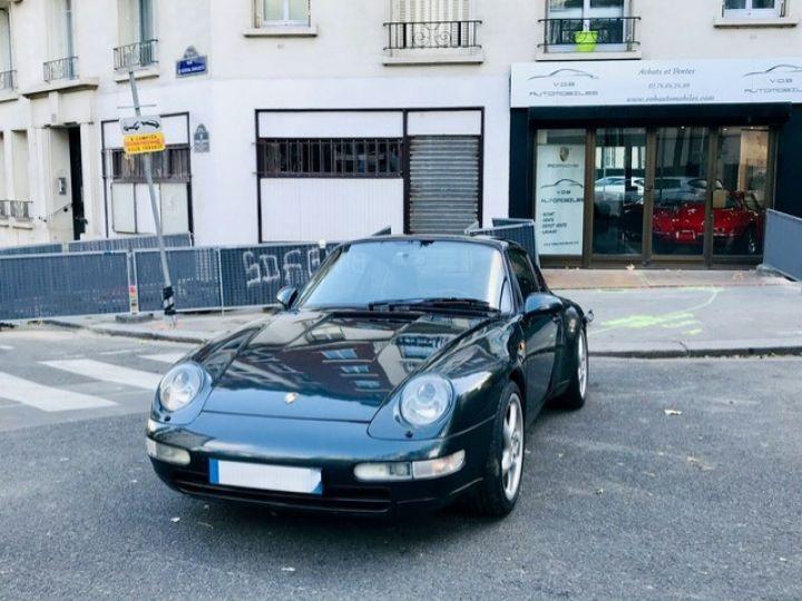 Porsche 993 PORSCHE 993 CARRERA CHASSIS SPORT / AUTOBLOQUANT /VERT AVENTURE VERT AVENTURE - 9