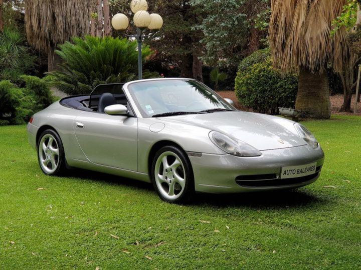 Porsche 996 CARRERA 4 CABRIOLET GRIS ARTIC METALLISE - 1