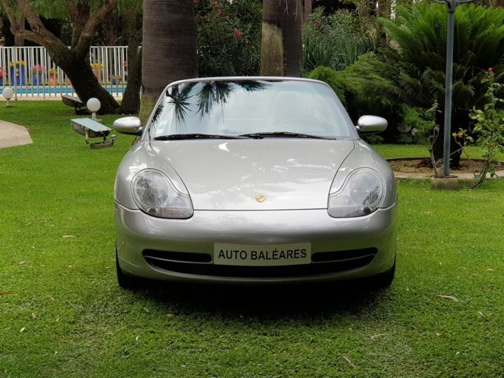 Porsche 996 CARRERA 4 CABRIOLET GRIS ARTIC METALLISE - 2