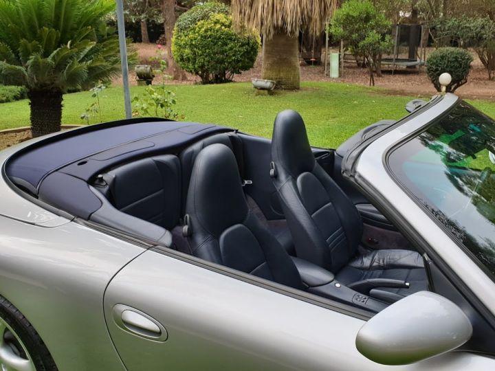 Porsche 996 CARRERA 4 CABRIOLET GRIS ARTIC METALLISE - 10