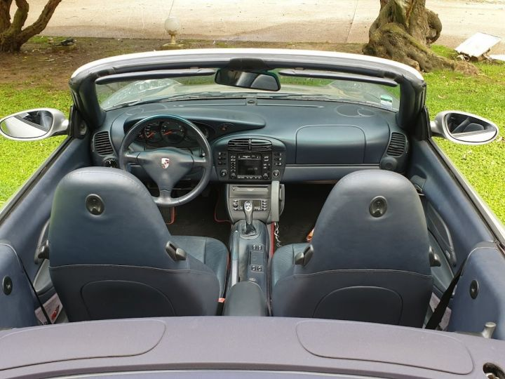 Porsche 996 CARRERA 4 CABRIOLET GRIS ARTIC METALLISE - 11