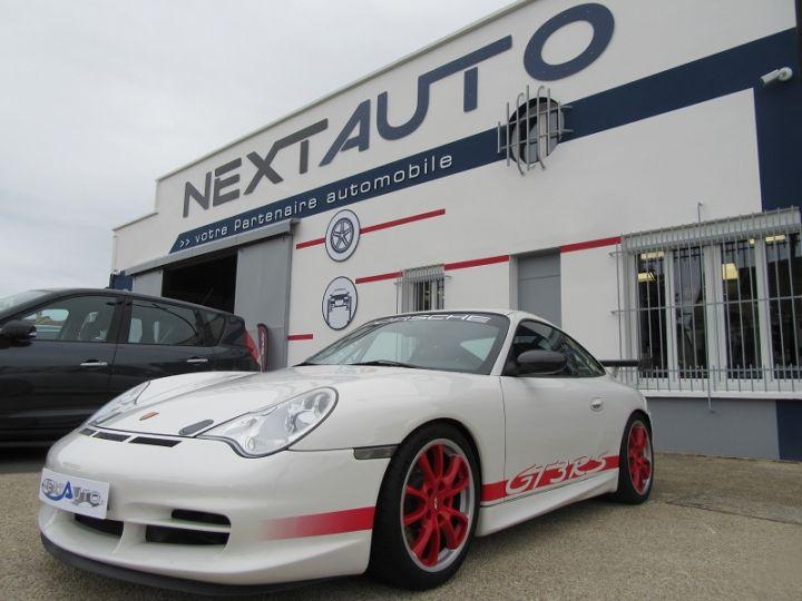Porsche 996 GT3 CLUBSPORT 381CH BV6 Blanc Occasion - 1