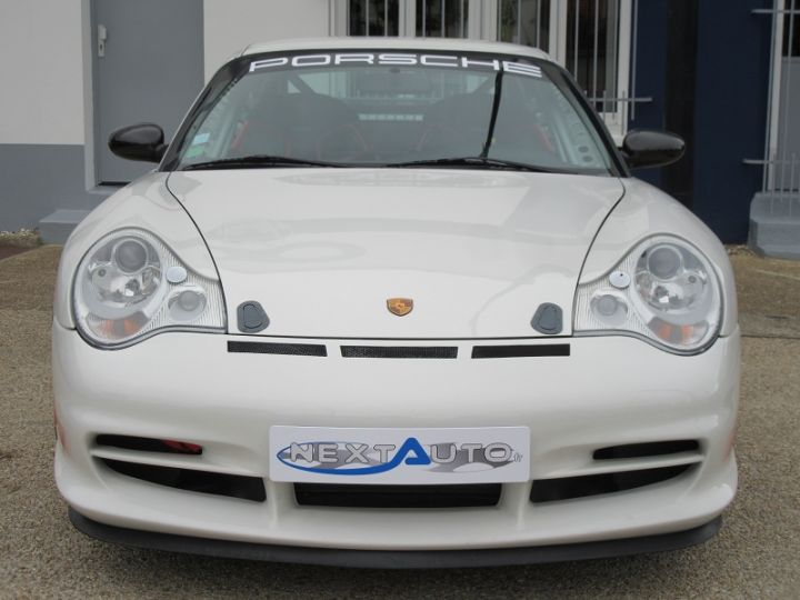 Porsche 996 GT3 CLUBSPORT 381CH BV6 Blanc Occasion - 6