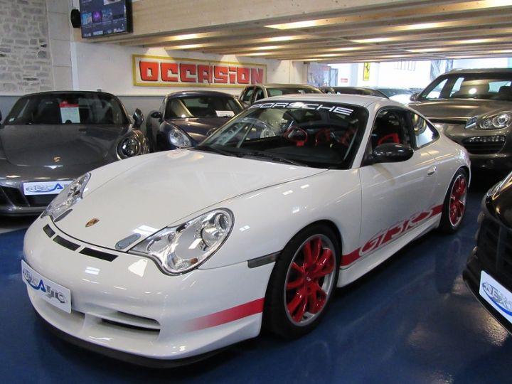 Porsche 996 GT3 CLUBSPORT 381CH BV6 Blanc Occasion - 20