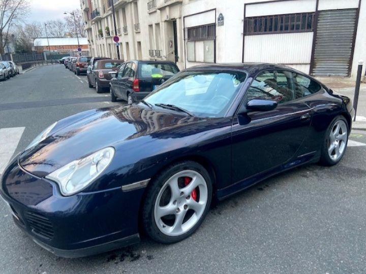 Porsche 996 PORSCHE 996 CARRERA 4S 120700 KMS BVA PSE IMS REMPLACE Bleu Nuit - 1
