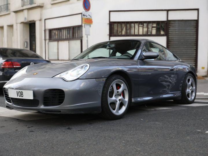 Porsche 996 PORSCHE 996 CARRERA 4S 88000KMS FRANCE Gris Meteor - 1