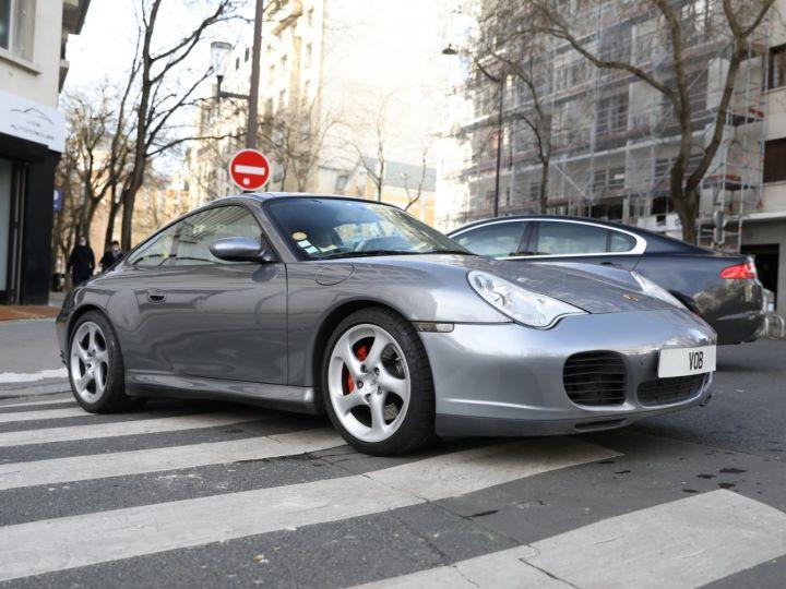 Porsche 996 PORSCHE 996 CARRERA 4S 88000KMS FRANCE Gris Meteor - 8