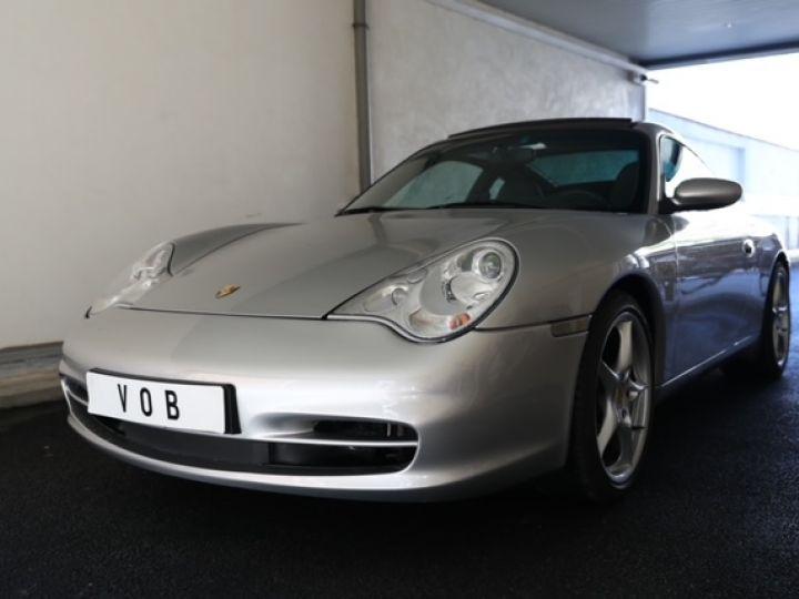 Porsche 996 PORSCHE 996 TARGA 3.6 320CV /CHASSIS SPORT/ ECHAPPEMENT SPORT / TRES BELLE Gris - 1