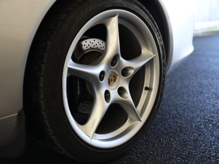 Porsche 996 PORSCHE 996 TARGA 3.6 320CV /CHASSIS SPORT/ ECHAPPEMENT SPORT / TRES BELLE Gris - 4