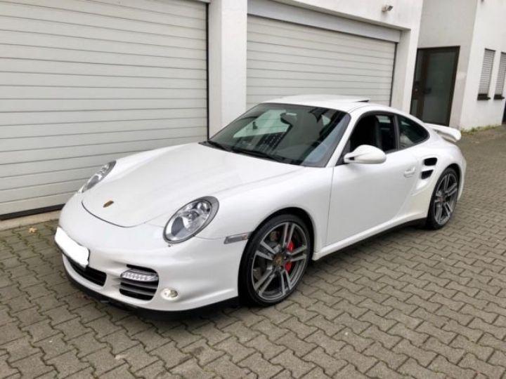 Porsche 997 911 TURBO PDK BLANC - 1