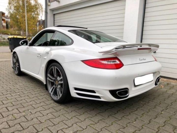 Porsche 997 911 TURBO PDK BLANC - 3