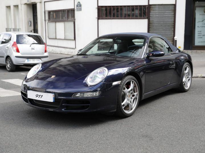 Porsche 997 997 CARRERA S 3.8 355CV CABRIOLET Bleu Nuit - 3