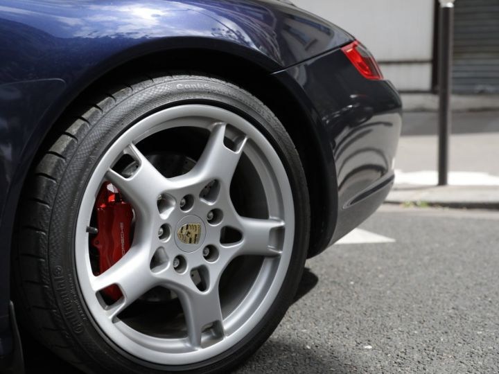 Porsche 997 997 CARRERA S 3.8 355CV CABRIOLET Bleu Nuit - 11