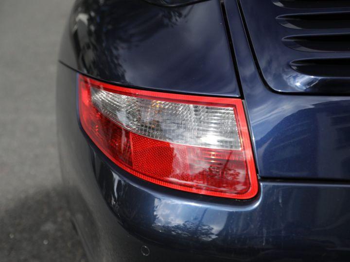 Porsche 997 997 CARRERA S 3.8 355CV CABRIOLET Bleu Nuit - 17