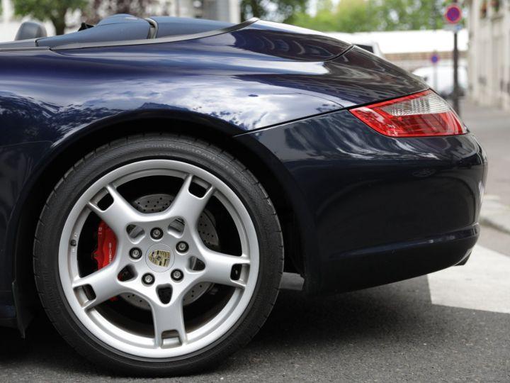 Porsche 997 997 CARRERA S 3.8 355CV CABRIOLET Bleu Nuit - 10