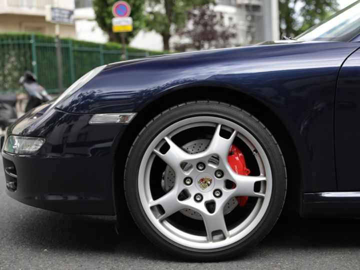 Porsche 997 997 CARRERA S 3.8 355CV CABRIOLET Bleu Nuit - 15