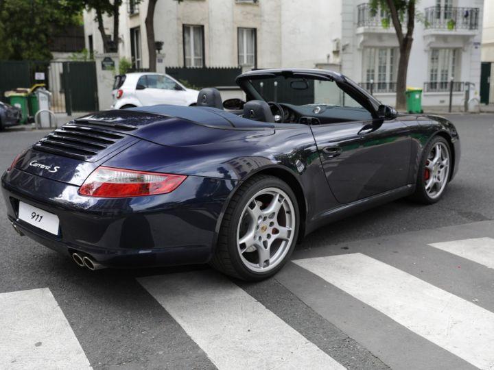 Porsche 997 997 CARRERA S 3.8 355CV CABRIOLET Bleu Nuit - 7