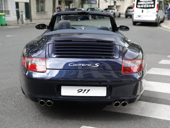 Porsche 997 997 CARRERA S 3.8 355CV CABRIOLET Bleu Nuit - 9
