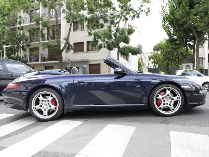 Porsche 997 997 CARRERA S 3.8 355CV CABRIOLET Bleu Nuit - 13