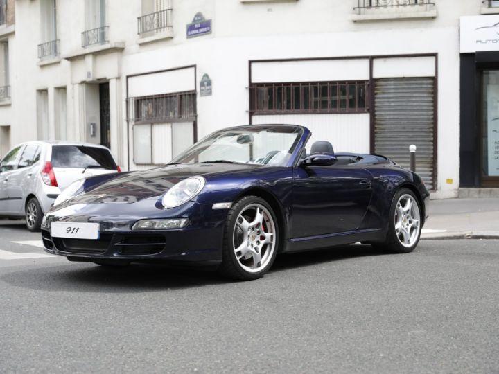 Porsche 997 997 CARRERA S 3.8 355CV CABRIOLET Bleu Nuit - 2