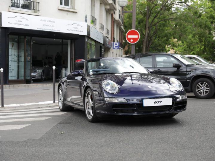 Porsche 997 997 CARRERA S 3.8 355CV CABRIOLET Bleu Nuit - 1