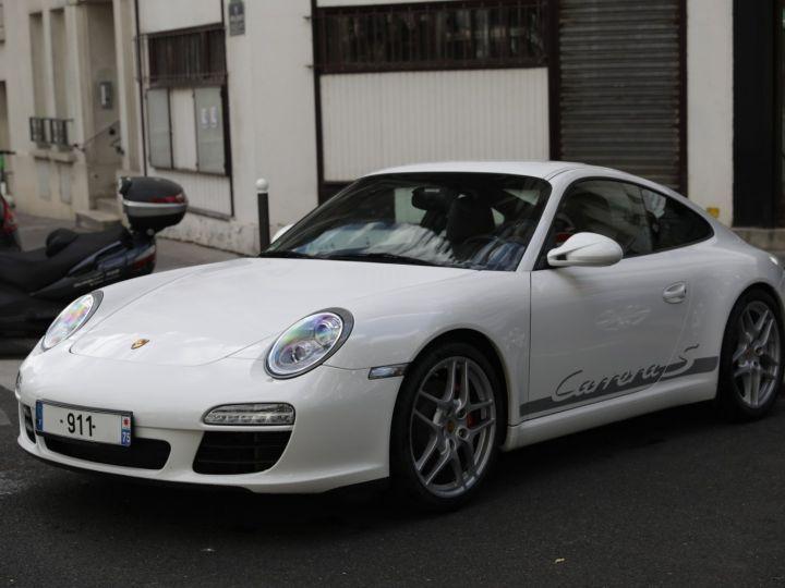 Porsche 997 997 CARRERA S 3.8 385 CV PDK Blanc - 1