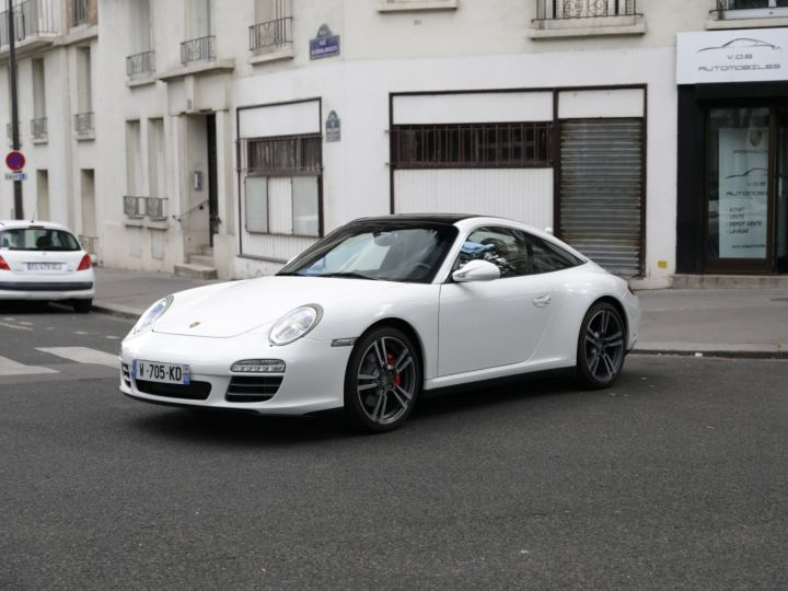 Porsche 997 997 TARGA 4S PDK 3.8 385CV Blanc - 3