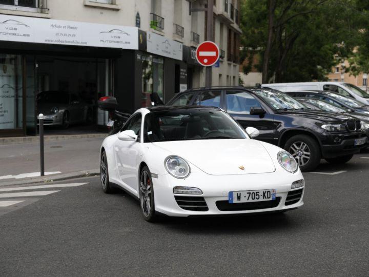 Porsche 997 997 TARGA 4S PDK 3.8 385CV Blanc - 1