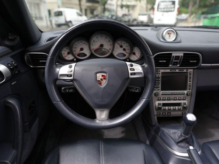 Porsche 997 CARRERA S 3.8 355CV CABRIOLET Bleu Nuit - 16
